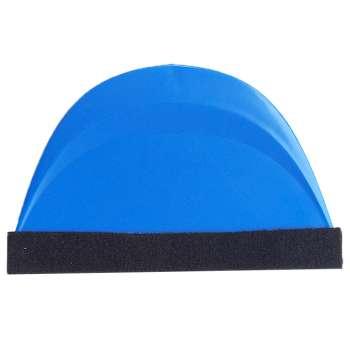 Zils Rakelis Ar Velvetu Līmplēves Uzstādīšanai
