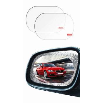 Auto Spoguļu Pretapmiglošanās Līmplēve Ovālas Formas 150x100mm