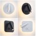 11W LED Kvadrāta Divu Pozīciju Regulējams Sienas Gaismeklis 4500k