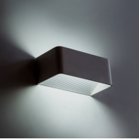 Mājas Fasādes LED Apgaismojums 8W (Melns)