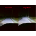 LED Jeep Tālās un Tuvās Gaismas Lukturi ar DRL un Pagriezienu Ø180mm Osram Chip