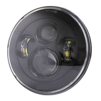 LED Jeep Tālās/Tuvās Gaismas Lukturi ar Gabarītu Ø180mm Osram Chip
