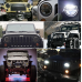 LED Jeep Tālās un Tuvās Gaismas Ø178mm Philips Chip