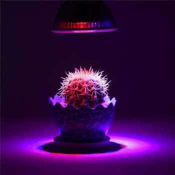 50W E27 LED Spuldze Augu Audzēšanai Pilna Spektra