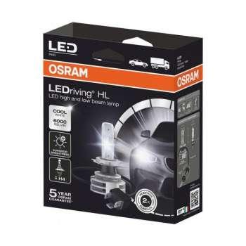 Osram LED Gaismas Spuldze H4 (kompl) 9726CW