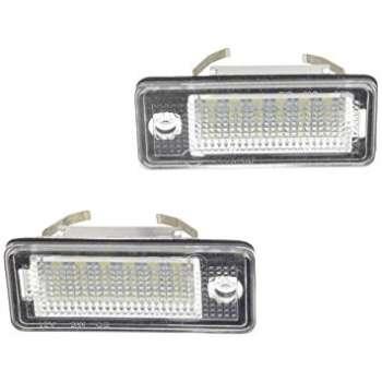 Audi A6(C6) A4(B7 B6) Q7 LED Numura Apgaismojums (Bez Kļūdu) Pāris