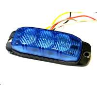 LED Strobe light 3 led (blue)