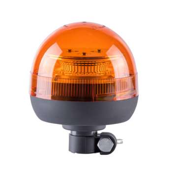 39 LED beacon with pipe mount Flexible And Short Amber Color