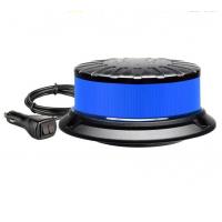 Led Magnētiska Un Pieskrūvējama Bākuguns 12 LED Zila