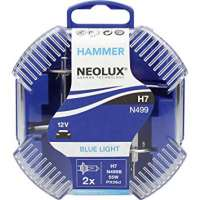 NEOLUX H7 12V halogēna spuldzes Blue light (2gb.)