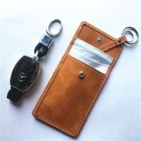 Keyless Key (Keyless Go) Signal Locking Case (brown)