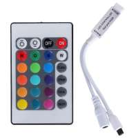 Multicolor RGB Led Strip Controller 24 Buttons 72W