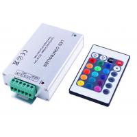 Daudzkrāsu RGB Led Lentu Vadības Pults 16 Pogas Ar Pastiprinātāju 12A