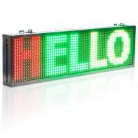 P10 LED Advertising Screen Multicolor (102cm)