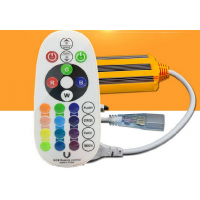 RGB (Multicolored) 220V LED Strip Control IP68