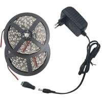 Led Lentas Komplekts 10 metri 5050 60 Balta IP20