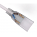 Double End Connector 4pin Single Color LED Strip 220v