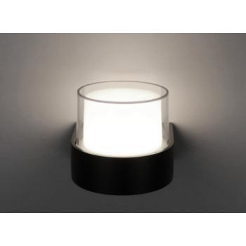 Mājas Fasādes Apaļš LED Apgaismojums 6W IP65 (Melns) 4500K