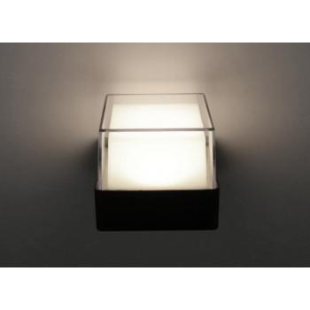 Mājas Fasādes Kvadrāta LED Apgaismojums 6W IP65 (Melns) 4500K