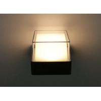 Mājas Fasādes Kvadrāta LED Apgaismojums 6W IP65 (Melns) 2700K