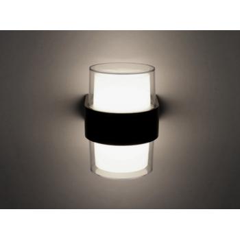 Mājas Fasādes Apaļš LED Apgaismojums 12W IP65 (Melns) 4500K
