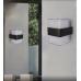 Mājas Fasādes Kvadrāta LED Apgaismojums 12W IP65 (Melns) 4500K