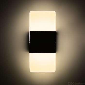 4w Sienas Apgaismojums Ar Melnu Apvalku 2700k