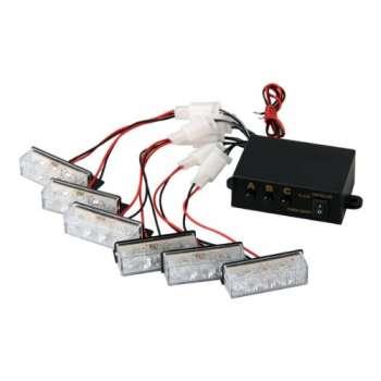18 LED Bākuguns Restē Balta