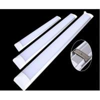 18w LED 600mm Flat Linear Luminaire 220v Neutral White 4000k