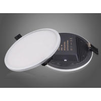 30w Led Panel Rounded with Built-in Power Converters IP44 Warm White 3000k