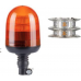 16 LED beacon with pipe mount Flexible Amber Color