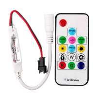 Digitālās Daudzkrāsu RGB Led Lentas Vadības Pults 14 Pogas