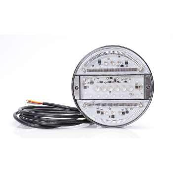 Dzidrinātie 16 LED Gabarīta, Bremzes Un Pagrieziena Rādītāja Lukturis