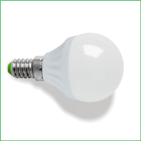 E14 Led bulb 6W/480Lm G45 Warm White 2700k