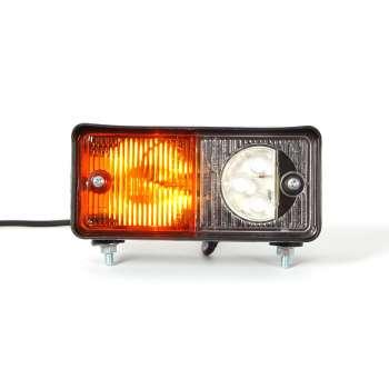 Kreisais 3 LED Priekšējais Pagrieziena un Gabarīta Lukturis