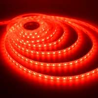 LED strip 24v Red 5050 / 60SMD IP65 14.4 W / m (800lm)