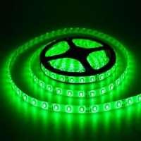 LED strip 24v Green 5050 / 60SMD IP65 14.4 W / m (800lm)