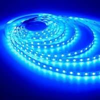 LED strip 24v Blue 5050 / 60SMD IP65 14.4 W / m (800lm)