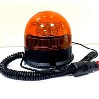 Led Magnētiska Bākuguns 8 LED Spoža Oranža