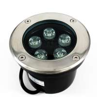 LED Inground Lighting White Color 5w/450Lm 6000k