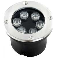 LED Inground Lighting White Color 6w/540Lm 6000k