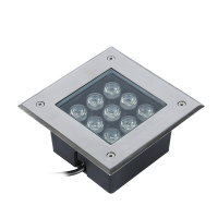 LED Inground Lighting Square 9w/810Lm 6000k