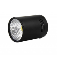 LED Ceiling Spotlight 20W/2000Lm 4500K (Black Housing)