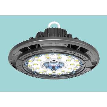 Noliktavas LED Prožektors UFO 150w Neitrāli Balta Gaisma 4500K