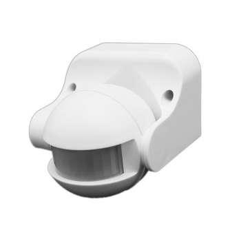LED Gaismas Kustības sensors IP44 (Regulējams)