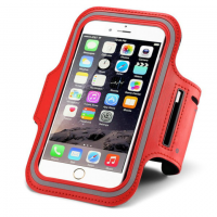 Universal Sports Bracelet for the Phone (Red)