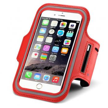 "Universāla Sporta Aproce Telefonam 5.0"" (Sarkana)"