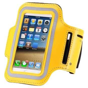 "Universāla Sporta Aproce Telefonam 5.0"" (Dzeltena)"