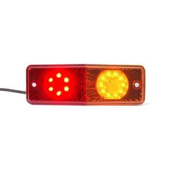 Multifunkcionāls LED Lukturis - Pagrieziens, Gabarītlampa, Bremzes.